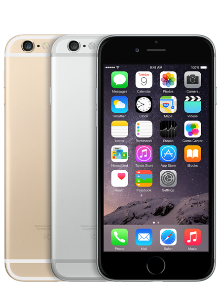 iPhone 6 - 128GB (Silver/Gray/Gold)